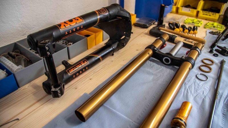 Fox 40 AIR Federgabelservice Fahrrad Werkstatt Lotter