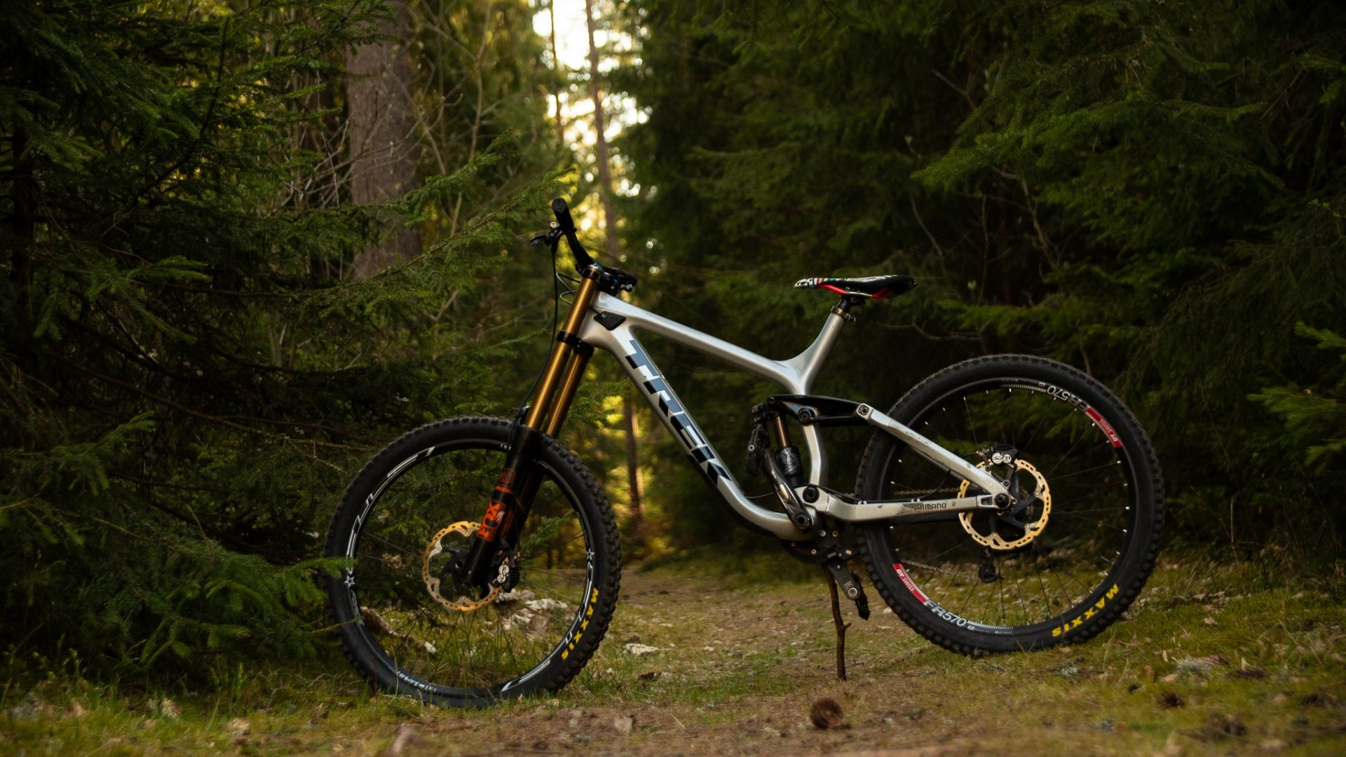 Teambike 2020 Thilo Egert Trek session 9.9 biking is awesome
